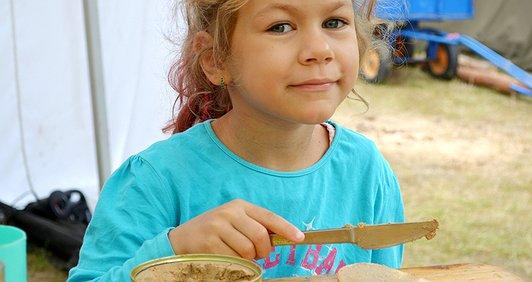 Нагодуй дітей у таборі