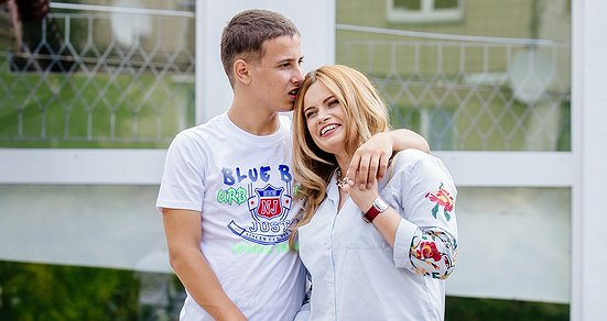 I run for Dzherelo. Zoreslava Liulchak